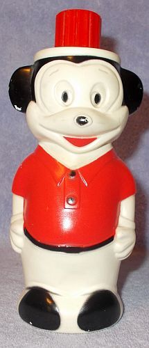 Primary image for Walt Disney Productions Mickey Mouse Soaky Bubble Bath Bottle 10oz