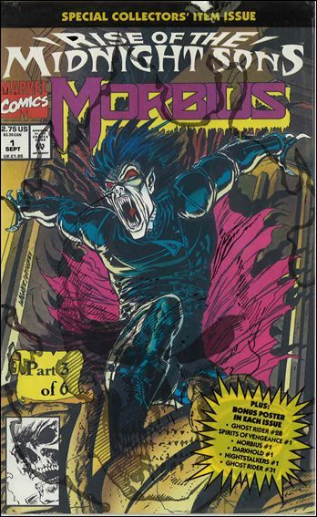 Marvel MORBIUS: THE LIVING VAMPIRE (1992 Series) #1 NM Polybagged