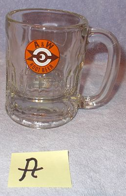 Primary image for A W Root Beer Mama Medium Size Mug Target Bulls Eye Arrow Logo A