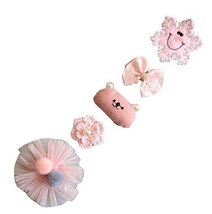 5 Pieces Lovely Little Girl's Hair Clip New Children's Hair Accessories - $17.05