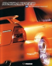 2003 Mazda MAZDASPEED PROTEGE dlx sales brochure catalog folder 03 US - $12.00