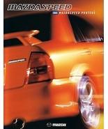 2003 Mazda MAZDASPEED PROTEGE dlx sales brochure catalog folder 03 US - $12.00