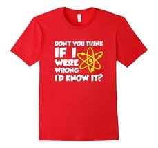 Special Shirt - Nerd Saying If I Were Wrong I'd Know Funny T-Shirt (Dark... - $19.95+