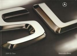 2009 Mercedes-Benz SL brochure catalog 550 600 SL63 AMG US 09 - $12.00