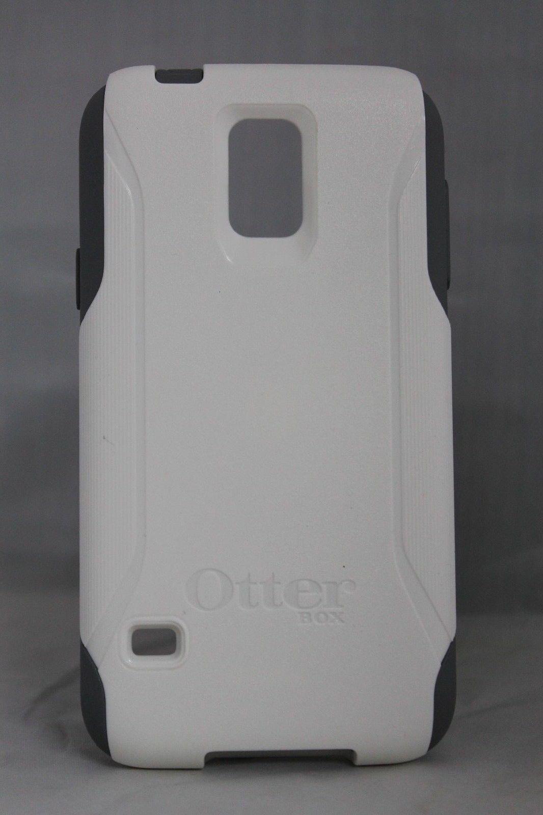NEW 100% GENUINE OtterBo Galaxy S5 Commuter Series Case white/gray or black