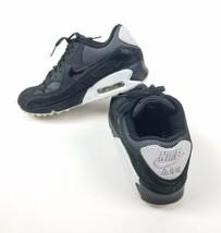 Nike Air Max 90 Premium (443817-005) Black Mesh Sequin Athletic Shoes Wo... - £27.40 GBP