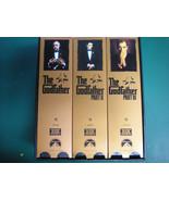 The Godfather No 1 No 2 No 3 Trilogy Classic VHS Tapes Collectors Gem! - £30.98 GBP
