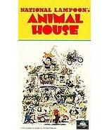 NATIONAL LAMPOON's ANIMAL HOUSE Original Paper Cov (VHS TAPE)  JOHN BELU... - £48.28 GBP