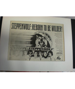 STEPPENWOLF 8x10 Poster 70's ADVERTISING FOR SLOW FLUX - £34.48 GBP