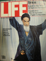 Life Magazine  January 1980 -A Look at the 80's  -A Classic Collectors Gem! - $9.49
