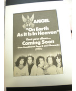 """ANGEL 8x10 Poster 70's ADVERTISING FOR """"ON EARTH AS IT IS IN HEAVEN"""" - £34.48 GBP"""
