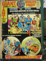 World's Finest Comics Superman #206 DC Comics OCT-NOV 1971 GD 35¢ Cover ... - $11.29