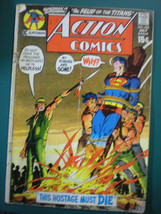 ACTION COMICS SUPERMAN VS SUPERGIRL ISSUE # 402 JULY 1971 - $9.49