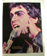 PETER GABRIEL IN CONCERT  8x10 Poster FROM THE  70's  A Classic Gem!! - £23.26 GBP