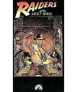 Raiders of the Lost Ark  ORIGINAL 1981 Classic  VHS  - Rare 1st Copy - £21.80 GBP