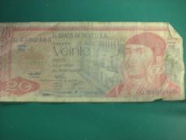 1977, -20 Veinte Pesos  El Banco De Mexico Bank Note -#D-3-28 - $6.79