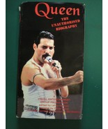 QUEEN The Unauthorized Biography SUPER RARE!  A Classic VHS Gem! - £48.28 GBP