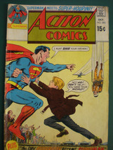 Action Comics Superman Oct 1970 A  Classic Gem Vintage Comic  5.5 VF - $9.49