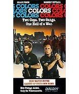 COLORS; VHS 1988; Sean Penn, Robert Duvall, Don Cheadle, Damon Wayans - £34.48 GBP