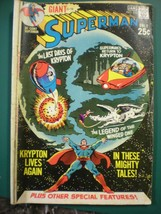 DC Comics GIANT SUPERMAN #232  FINE (Dec 1970-Jan 1971, DC)  A classic! - $9.49