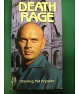 VHS: DEATH RAGE....YUL BRYNNER....RARE. - £34.48 GBP