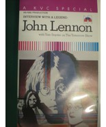 INTERVIEW WITH A LEGEND: JOHN LENNON with Tom Snyder Tomorrow Show VHS B... - £34.48 GBP