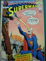SUPERMAN 250 VG April 1972 - $9.49