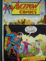 Action Comics Superman Mayl 1972 A  Classic Gem Vintage Comic  6.5 VF - $9.49