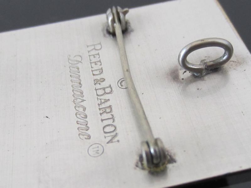 Vintage Jewelry Reed & Barton Pendant Pin Brooch