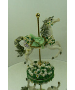Carousel Garden Horse May Month Lily of the Val... - $26.25
