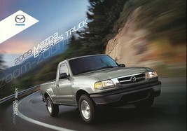 2009 Mazda B-SERIES TRUCKS brochure catalog folder B 2300 4000 09 US Ranger - $8.00