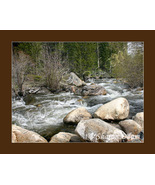 Wyoming Stream - Fine Art Print - SC0017C - $17.50