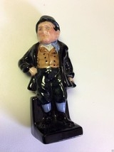 Royal Doulton Dickens character Bill Sykes figurine fine bone china England - $69.00