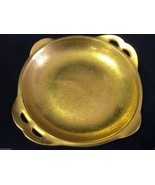 VINTAGE PICKARD SIGNED GOLD GILT PORCELAIN DISH PLATE - $45.00