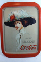 Hamilton King Gibson Girl Image Drink Delicious Coke Coca Cola Tin Tray ... - $45.00