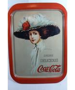 Hamilton King Gibson Girl Image Drink Delicious Coke Coca Cola Tin Tray ... - $45.00