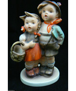 """Vintage Hummel Goebel Germany Porcelain Surprise Boy & Girl Figurine 4"""" ... - $159.00"""
