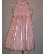 Cinderella Little Girls Dress With Matching Hat Size 6X - $29.00