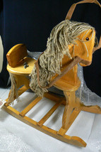 Boyds Bears Boyd's Bears Giddy Up Rocking Horse Wood Brand new with box ... - $89.25