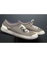 Women's TEVA Casual Cool Slate Grey Canvas Sneaker Sz. 38.5/7.5 MINT! - $33.05