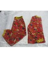 Disney Pixar Lightning McQueen Red And Yellow 2 Pcs Pyjama Set Unisex Si... - $11.86