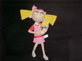 "16"" Nickelodeon Baseball Helga Plush Doll With Tags From Hey Arnold Nanc... - $98.99"