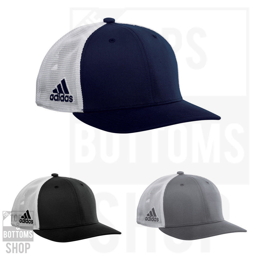 Adidas Meshback Colorblock Cap Trucker Hat Snapback Adjustable Cap - A627