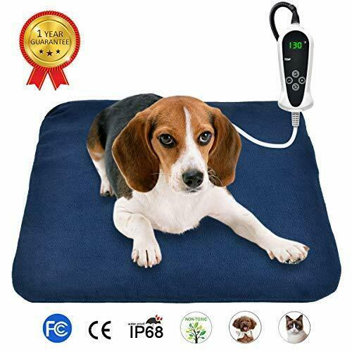 "Primary image for RIOGOO Pet Heating Pad, Electric Heating Pad for Dogs and Cats (M:18"" x 18"")"