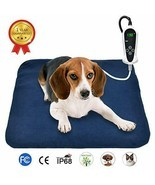 "RIOGOO Pet Heating Pad, Electric Heating Pad for Dogs and Cats (M:18"" x ... - £28.00 GBP"