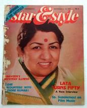 Star & Style 1979 Kishore Kumar Lata Mangeshkar Parveen Amitabh Sanjeev ... - $39.99