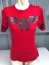 Wonder Woman DC Comics XL Youth 15/17 Red T-Shirt Top Stretch - $13.75
