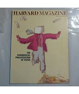 Harvard Magazine March 1988 Paradoxical Proliferation of Paper S2 - $39.99