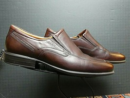 Men's ECCO Brown Vegetable Tanned Leather Loafer Sz 45/12M MINT! - $37.83
