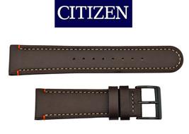 Genuine Citizen  BROWN Leather watch band Strap 22mm BM6995-19E - $44.95